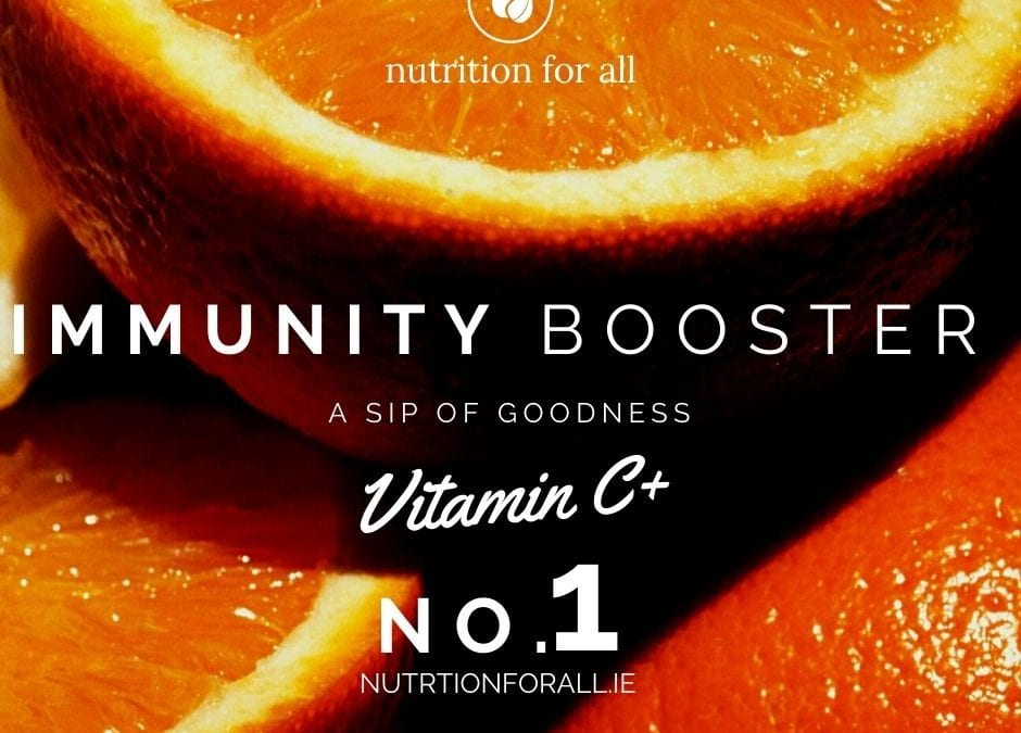 Nutritionforall Immunity Booster Tip 1 Take vitamin C
