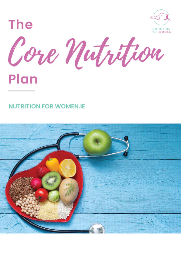 Cover Core Nutrition Plan by Nutrition for All